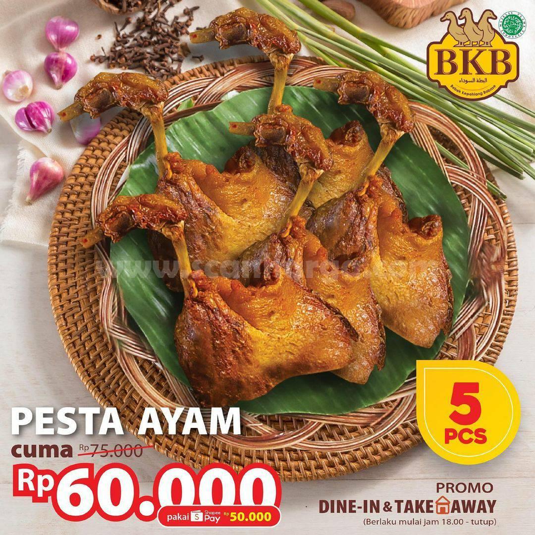 BEBEK BKB Promo PESTA AYAM! Harga Semua Paket hanya 50K