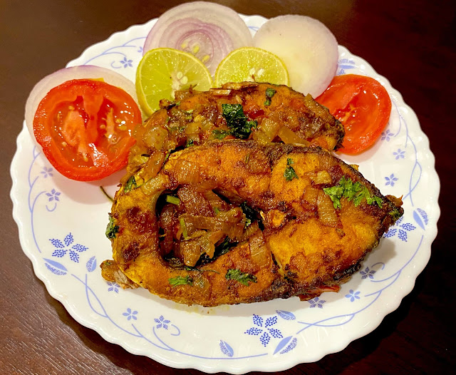Rohu Fish fry for Chhadakhai 2020