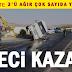 Gaziantep'te işçi servisi kaza yaptı! 17 yaralı