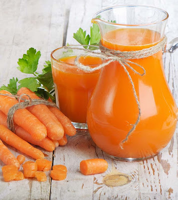 carrots Cleanses the body