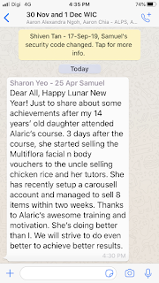 Alaric Ong is not a scam