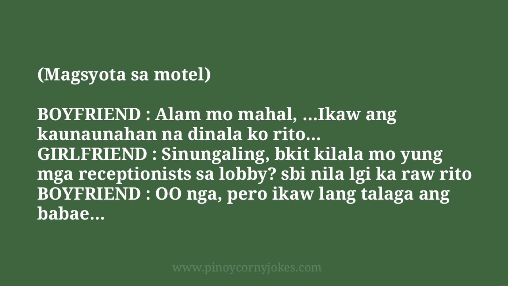 magsyota sa motel tagalog jokes