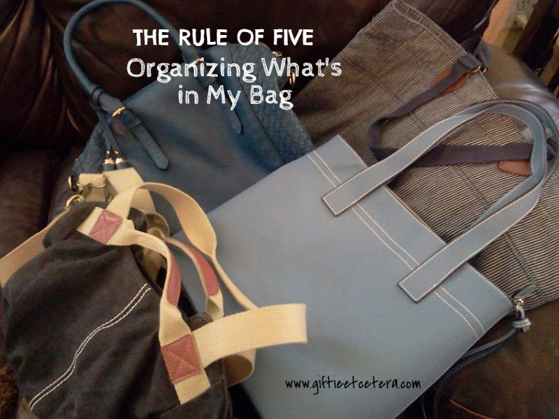 organizing, planner, what's in my bag