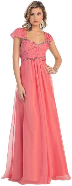 Best Coral Chiffon Bridesmaid Dresses