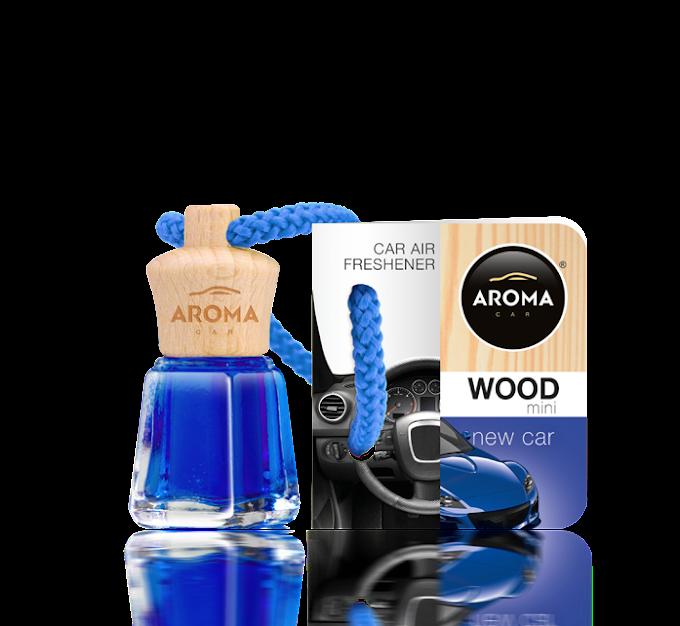 Tinh dầu treo ô tô Aroma Car Wood Mini 4ml - New Car