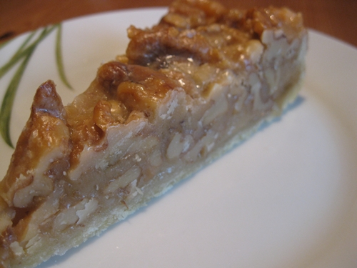 Walnuss Karamell Tarte Wawu Kulinarische Qualereien
