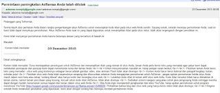 Ditolak Google Adsense saat upgrade Akun Hosted menjadi Nonhosted