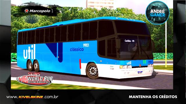 PARADISO GV 1150 - VIAÇÃO UTIL CLÁSSICO