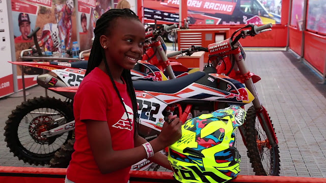 Meet Zimbabwe's First Female Motocross Champion, 14-Year-Old Tanya Muzinda Pays The School Fees of 45 Children