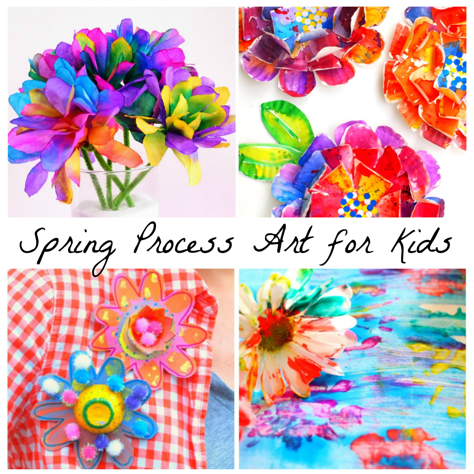 12 beautiful spring flower process art ideas for kids 12 beautiful spring flower process art ideas for kids from fun at home with kids mightylinksfo Choice Image