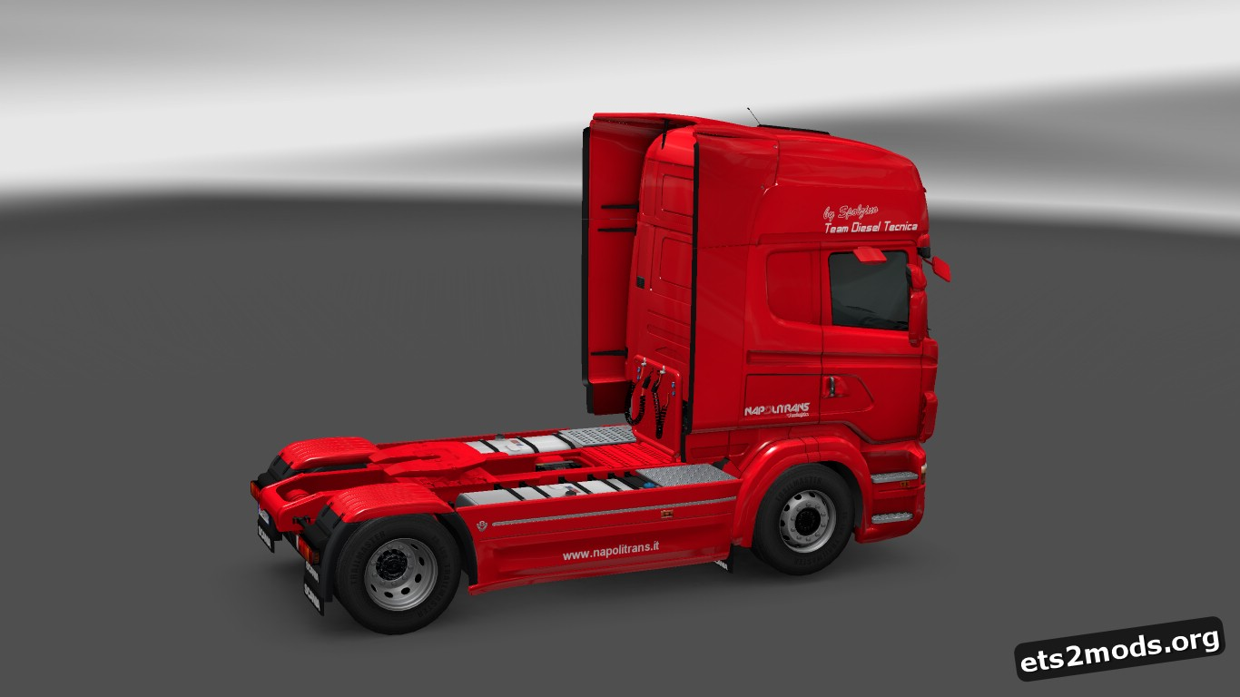 Napolitrans Skin for Scania RJL