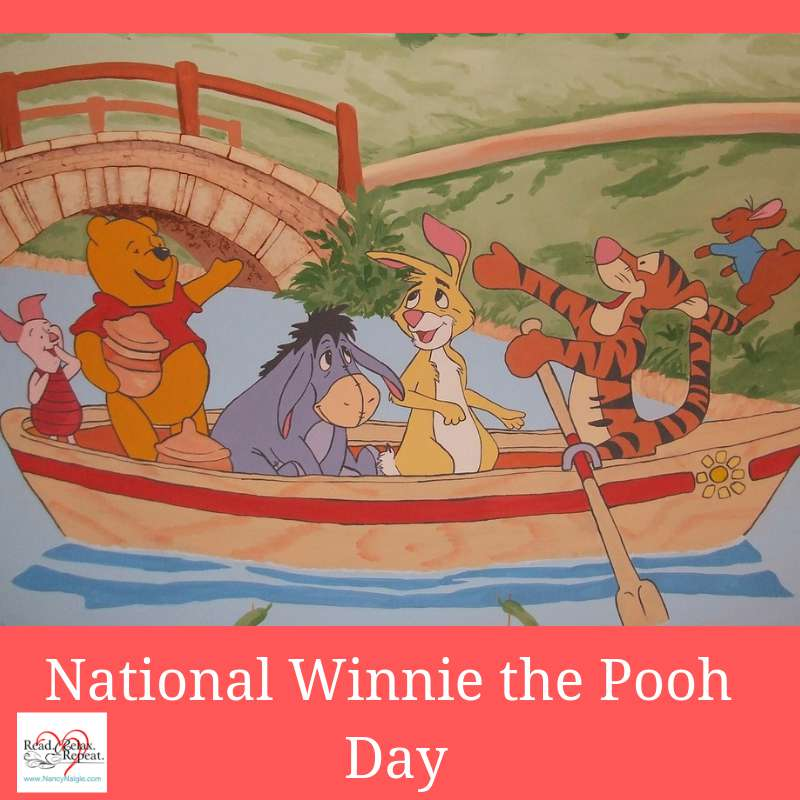 National Winnie the Pooh Day Wishes Beautiful Image
