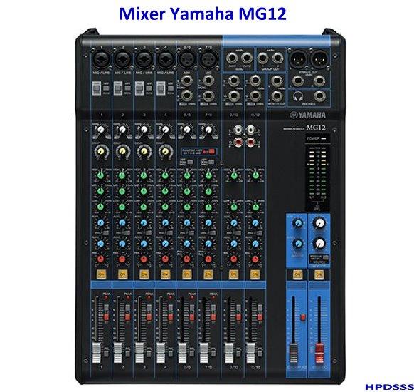 Harga Mixer Yamaha 6 Channel MG12