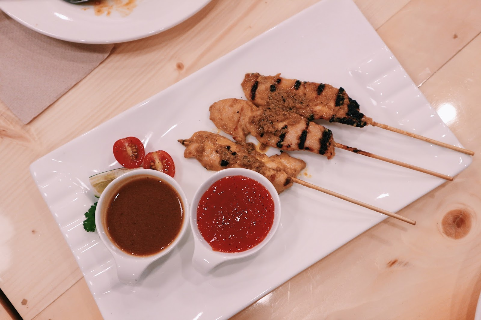 Flavors of Asia Davao - Chicken Satay