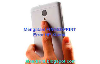 fingerprint xiaomi error