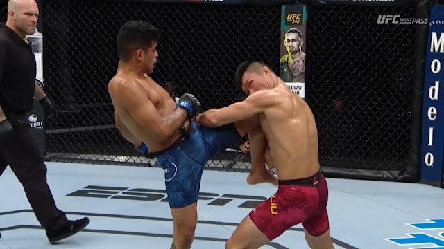 Jonathan Martinez def. Pingyuan Liu Knee Knockout