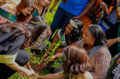 Let's Protect The Earth And The Environment - First Lady