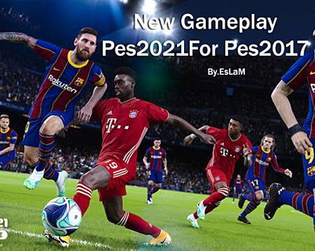 PES 2017 New Gameplay PES 2021