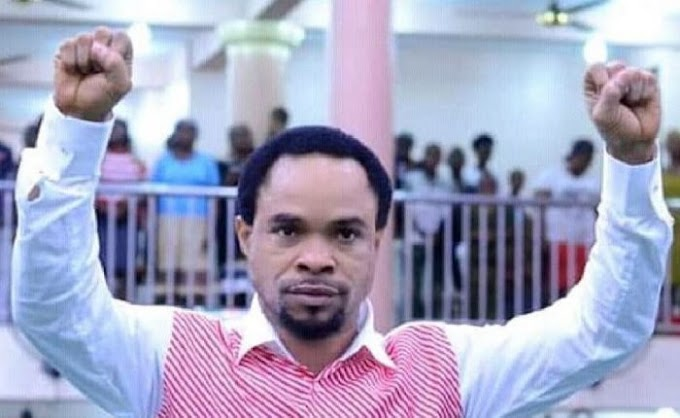 OMG!! Controversial Prophet Odumeje Caught On Camera Having Spiritual Sex With A Female Church Member (Watch)