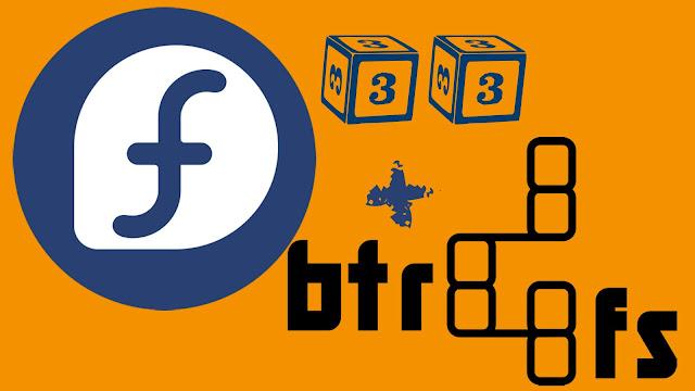 Lançado Fedora 33 com o sistema de arquivos Btrfs
