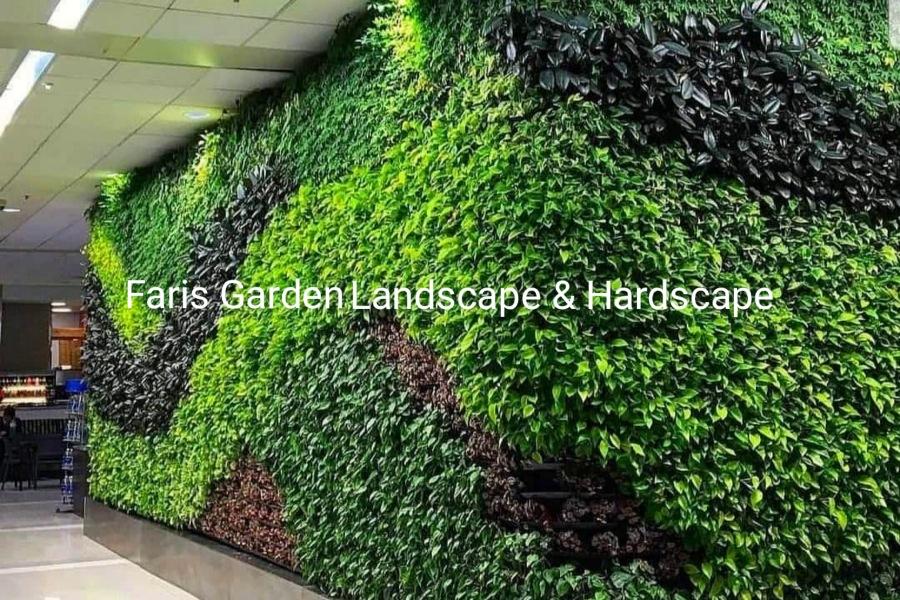 Contoh Model Desain Taman Vertikal Garden