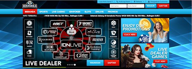 Kerasbola Agen Judi Game Slot Online Deposit Gopay !