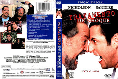 Filme Tratamento de Choque DVD Capa