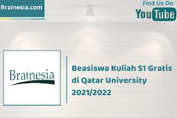 Beasiswa Kuliah S1 Gratis di Qatar University 2021/2022
