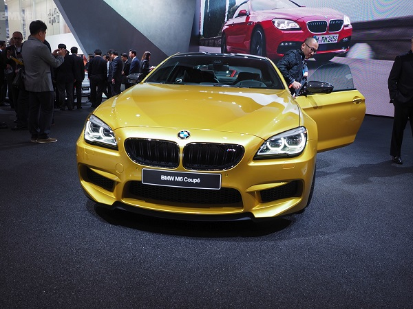 2016 BMW M6 front