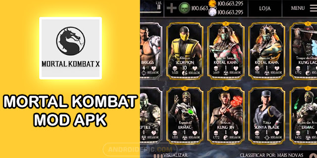 Download Mortal Kombat X Mod Apk Offline Unlimited Money | androidepic.com