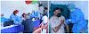 Lansia RW 08 dan 18 Kayuringin Jaya Jalani  Suntik Vaksin Tahap I