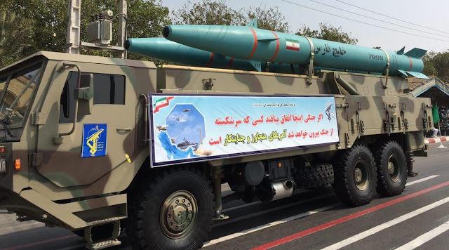 Khalij Fars  anti ship ballistic missile Persian Gulf missile