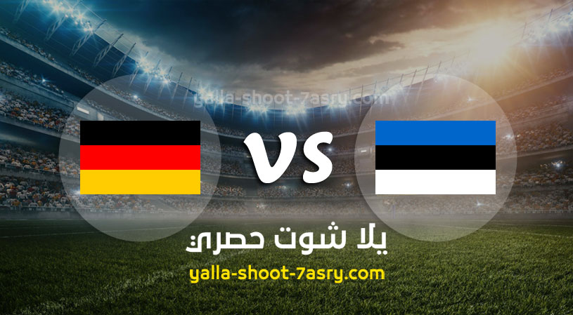 مباراة المانيا واستونيا