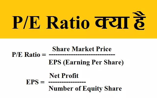 Price Earning Ratio क्या है? - PE Ratio In Hindi