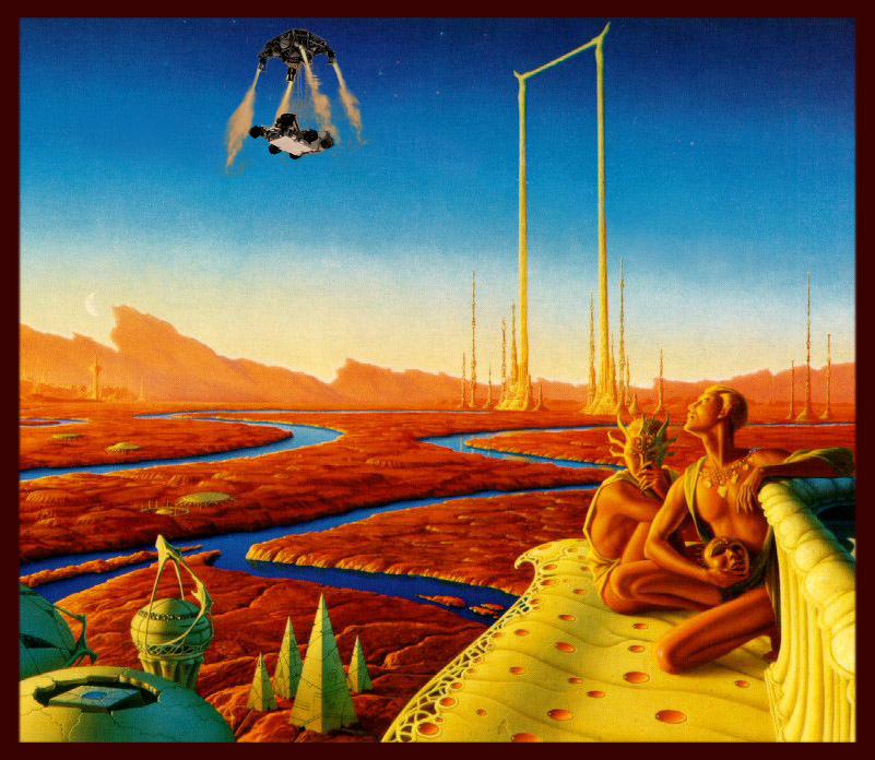 Vintage Science Fiction Wallpaper Google Search: 1000+ Images About The Martian Chronicles On Pinterest