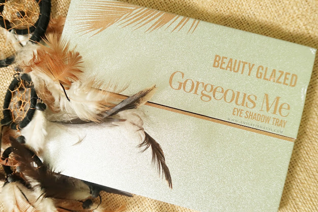 Review Beauty Glazed Gorgeous Me Eye Shadow Tray