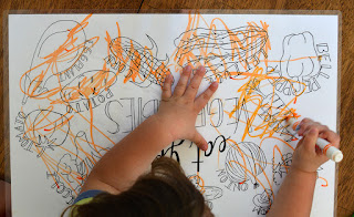vegetable gardening coloring page kids
