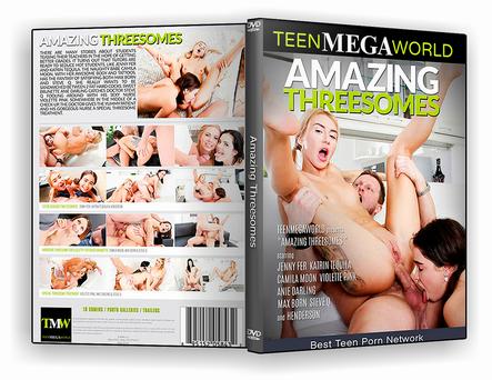DVD Amazing Threesomes xxx 2019 - ISO