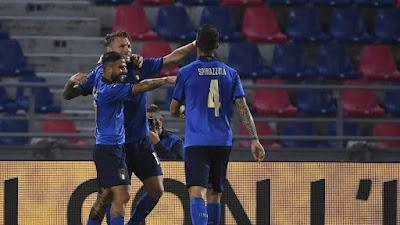 ملخص واهداف مباراة ايطاليا والتشيك (4-0) مباراة ودية
