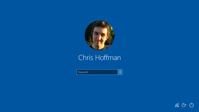 Desactivar el fondo de la pantalla de inicio de sesión en Windows 10