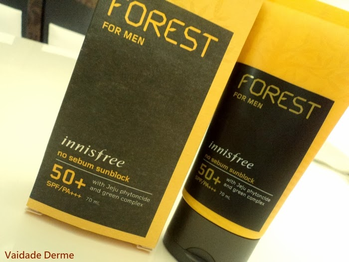 Forest For Men No Sebum Sunblock FPS 50+/PA+++ da Innisfree