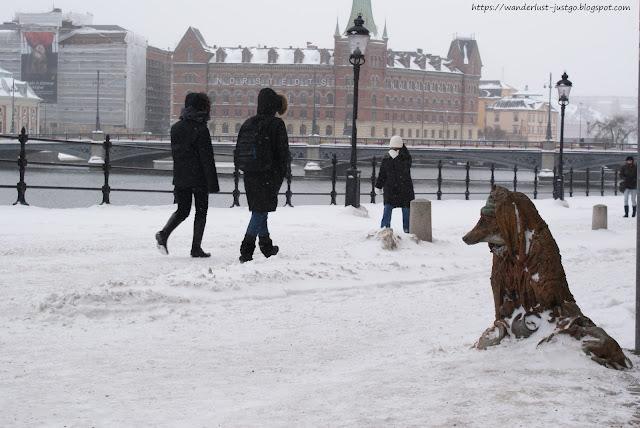 Sztokholm - weekendowa wycieczka z wirusem