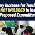 No pay hike for teachers in 2020 proposed expenditure plan