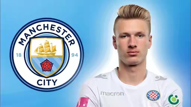 Manchester City sign Ante Palaversa