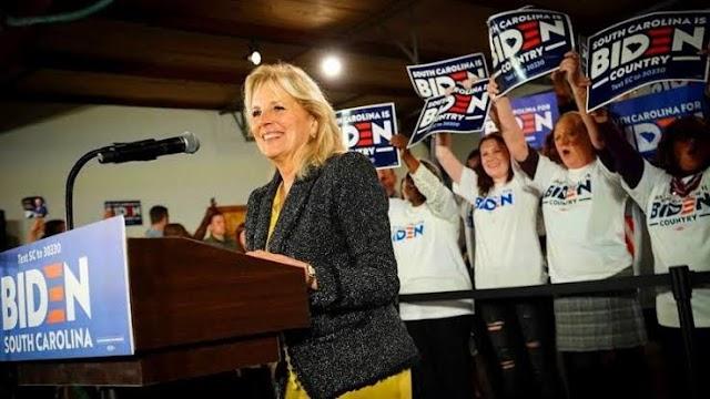 Mengenal Sosok Jill Biden, Doktor Pendidikan Calon Ibu Negara AS