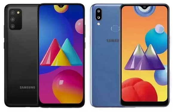 Samsung Galaxy M02s vs Galaxy M01s - ponsel dibawah 2 Juta