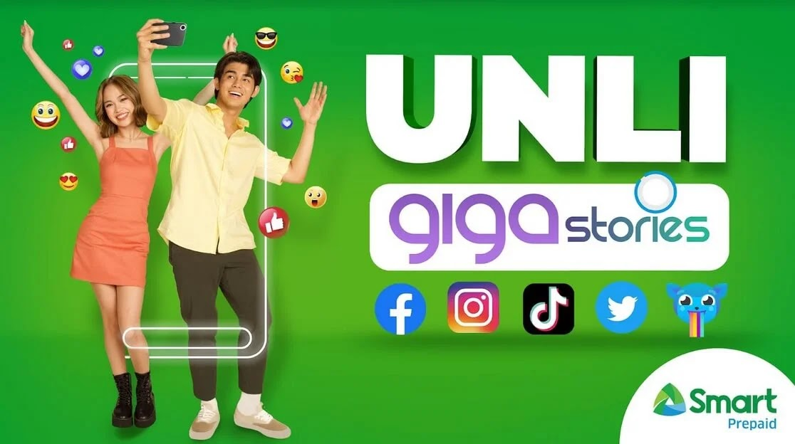 Smart UNLI GIGA Stories; Unlimited Access to Social Media Apps for Only Php149