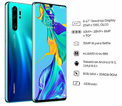 Huawei P30 Pro 8-Core Kirin 980 EMUI 9.0 Phablet