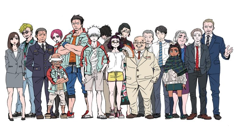 Bohaterowie anime Godzilla: S.P