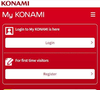 Akun Konami ID